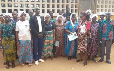 L'ANAVIE installe un club Senior dans le Village d'Adidogomé-Gblinkomégan